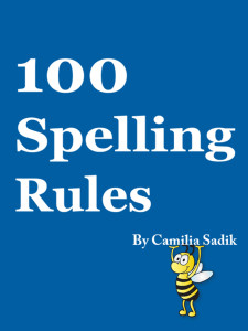 كتاب 100 قاعدة للتهجي